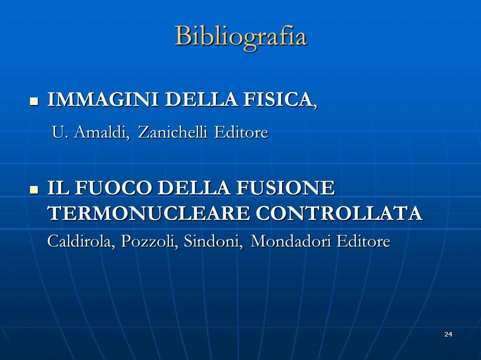 Bibliografia IMMAGINI DELLA FISICA,