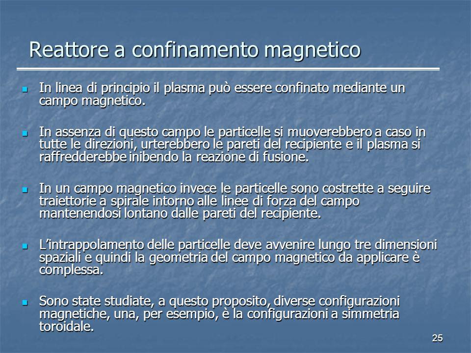 Reattore a confinamento magnetico