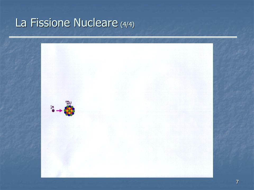La Fissione Nucleare (4/4)