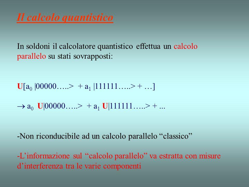 Il calcolo quantistico