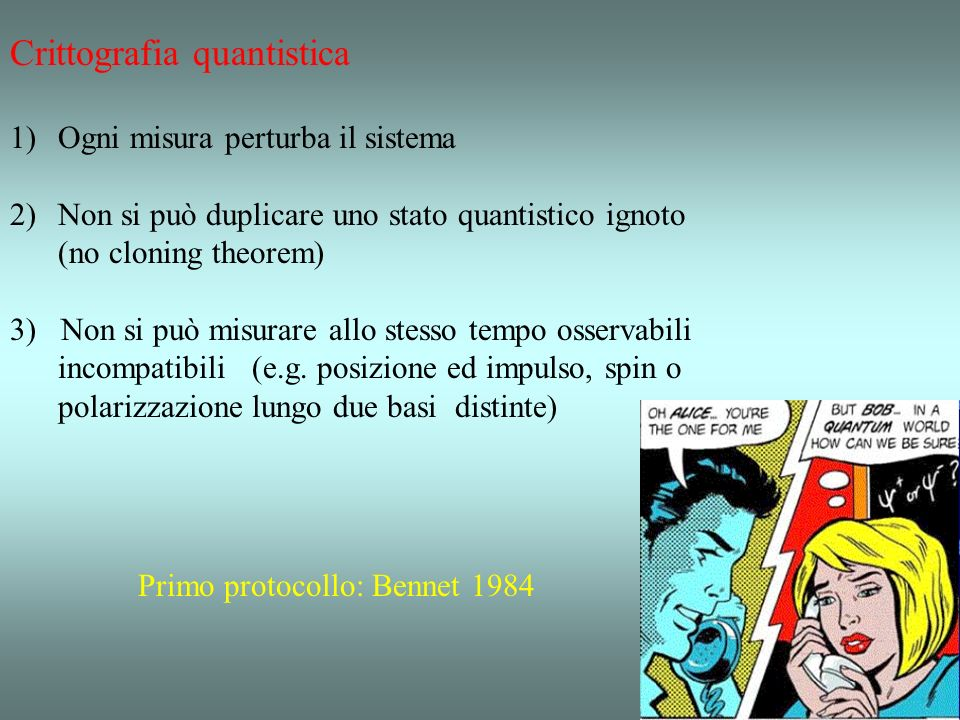 Crittografia quantistica