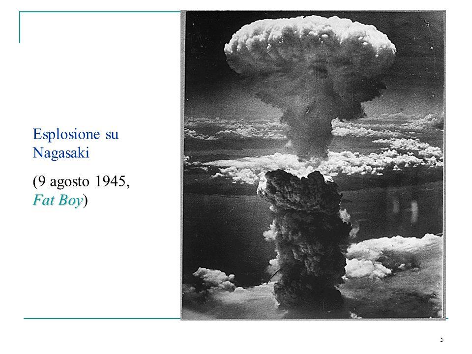 Esplosione su Nagasaki