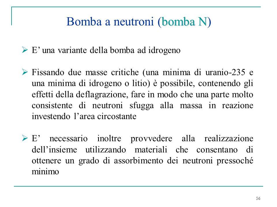 Bomba a neutroni (bomba N)