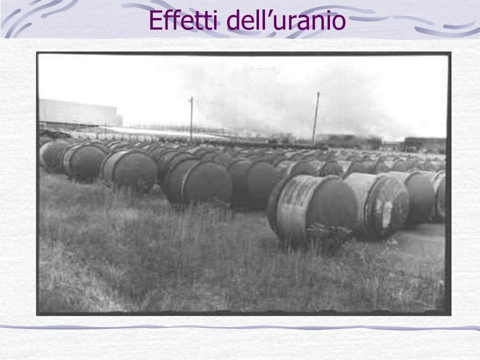 Effetti dell'uranio