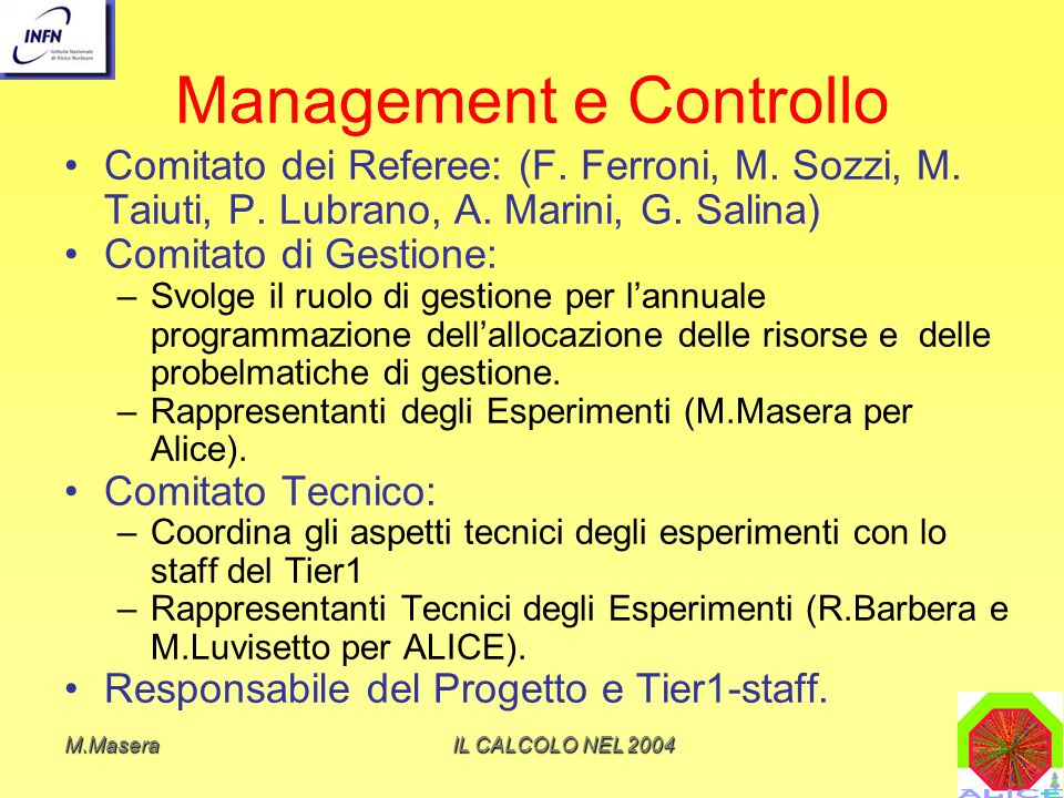 Management e Controllo