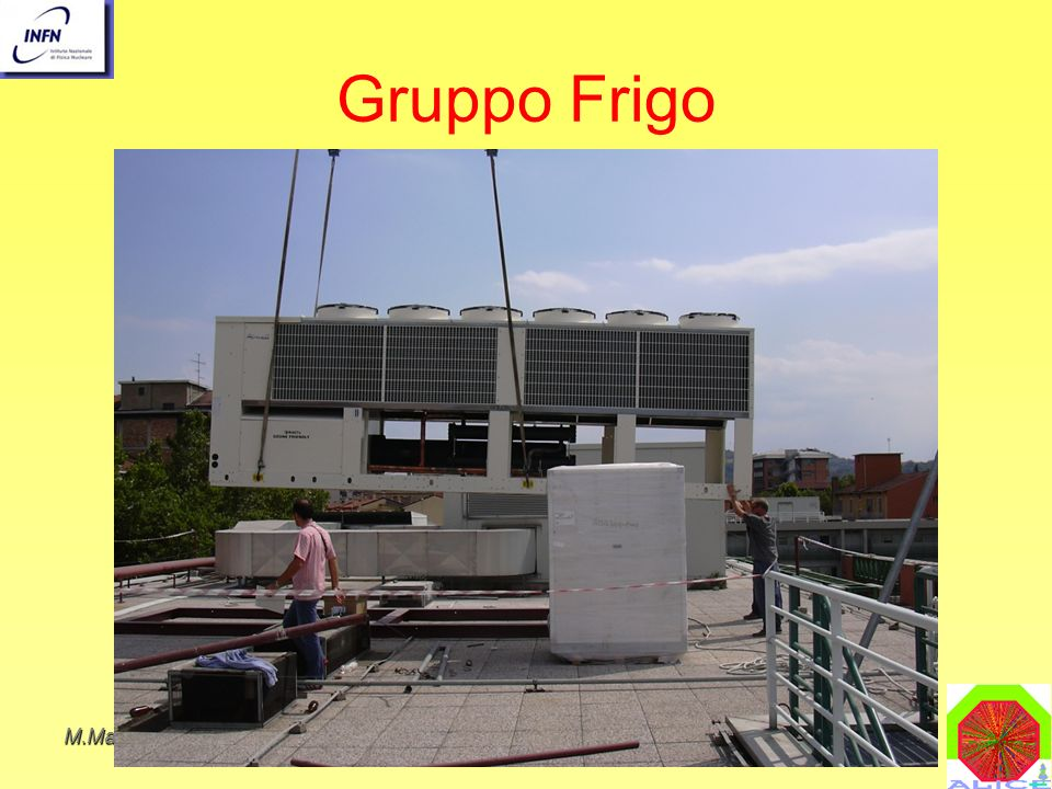 Gruppo Frigo M.Masera IL CALCOLO NEL 2004