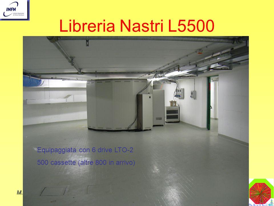 Libreria Nastri L5500 Equipaggiata con 6 drive LTO-2