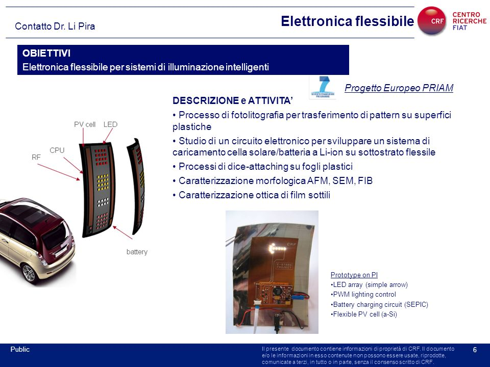 Elettronica flessibile