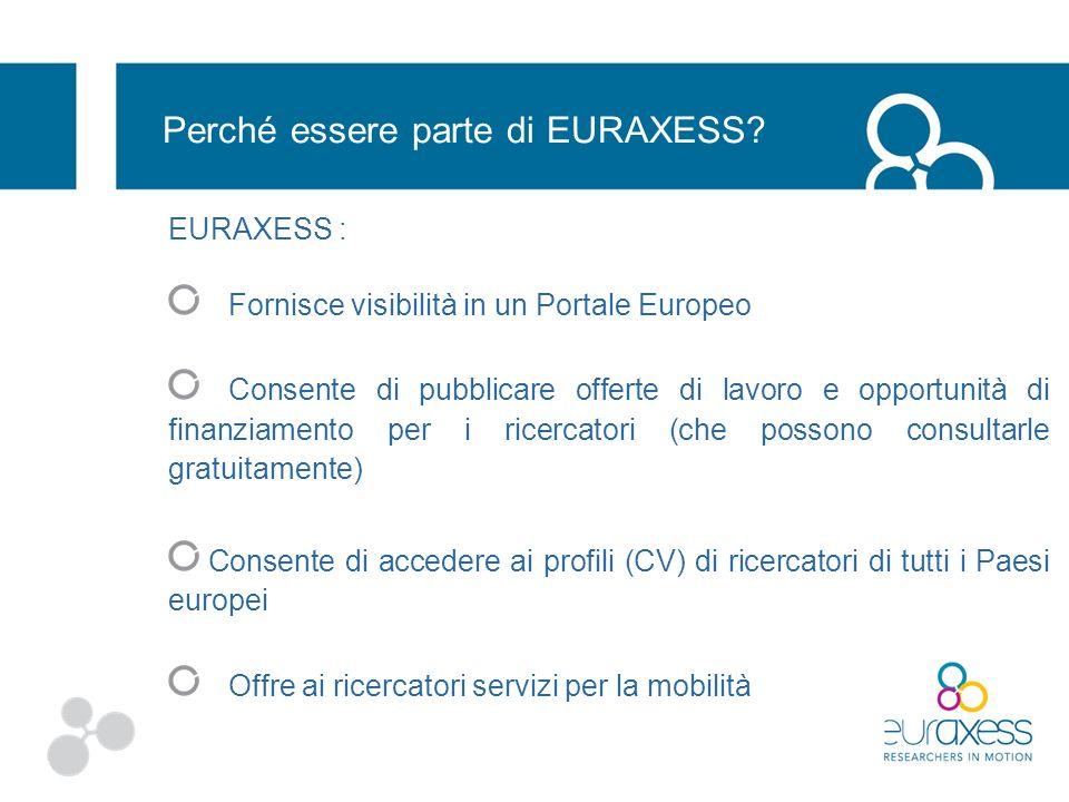 Perché essere parte di EURAXESS