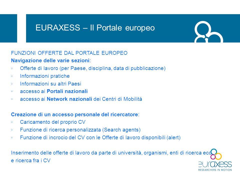EURAXESS – Il Portale europeo