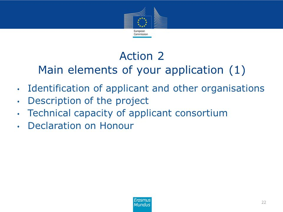 Action 2 Main elements of your application (1)
