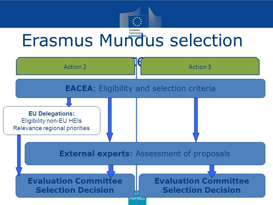 Erasmus Mundus selection process