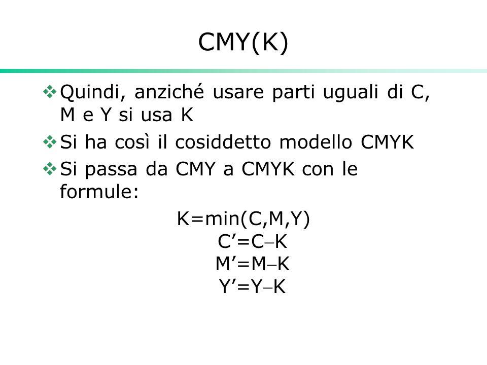K=min(C,M,Y) C'=CK M'=MK Y'=YK