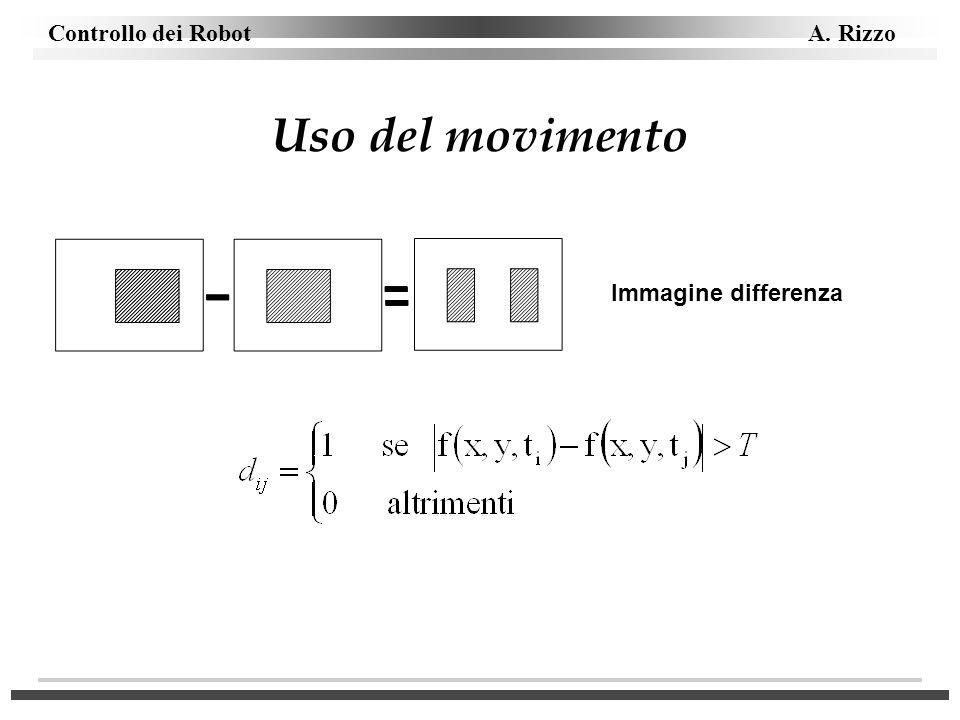 Uso del movimento Immagine differenza