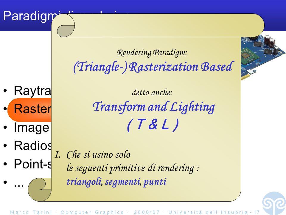 Paradigmi di rendering