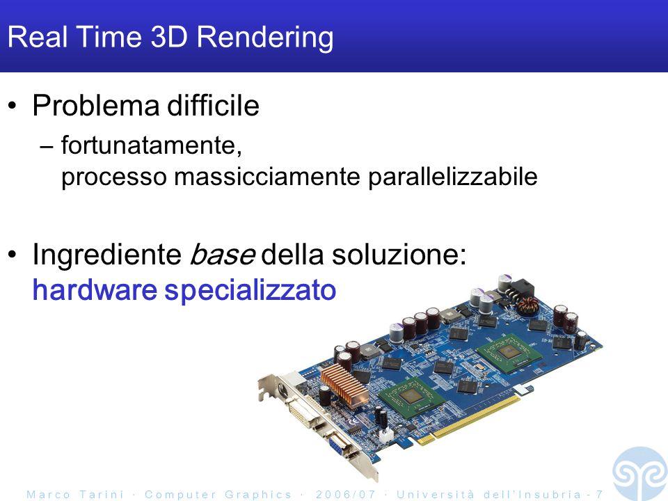 Ingrediente base della soluzione: hardware specializzato