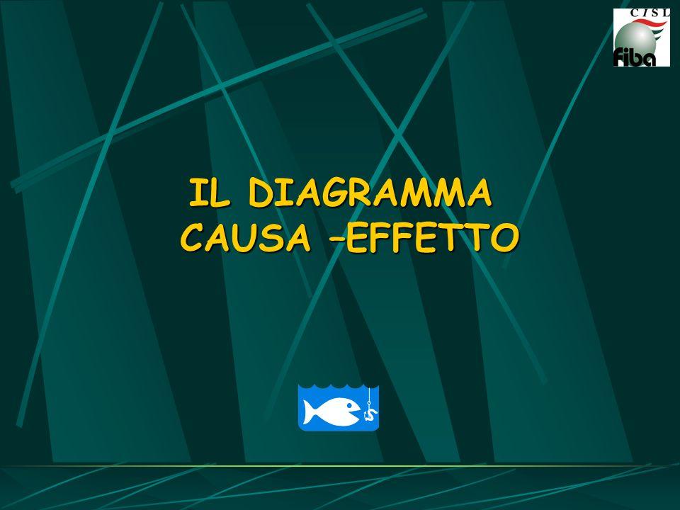 IL DIAGRAMMA CAUSA –EFFETTO