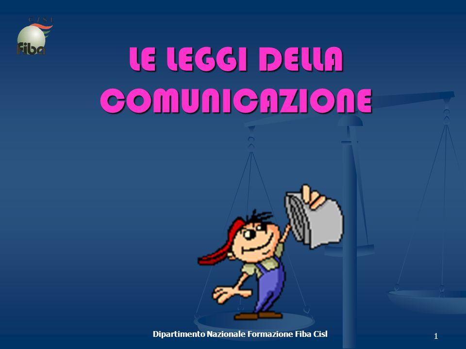 LE LEGGI DELLA COMUNICAZIONE