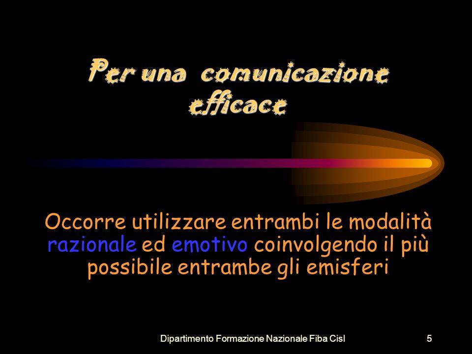 Per una comunicazione efficace