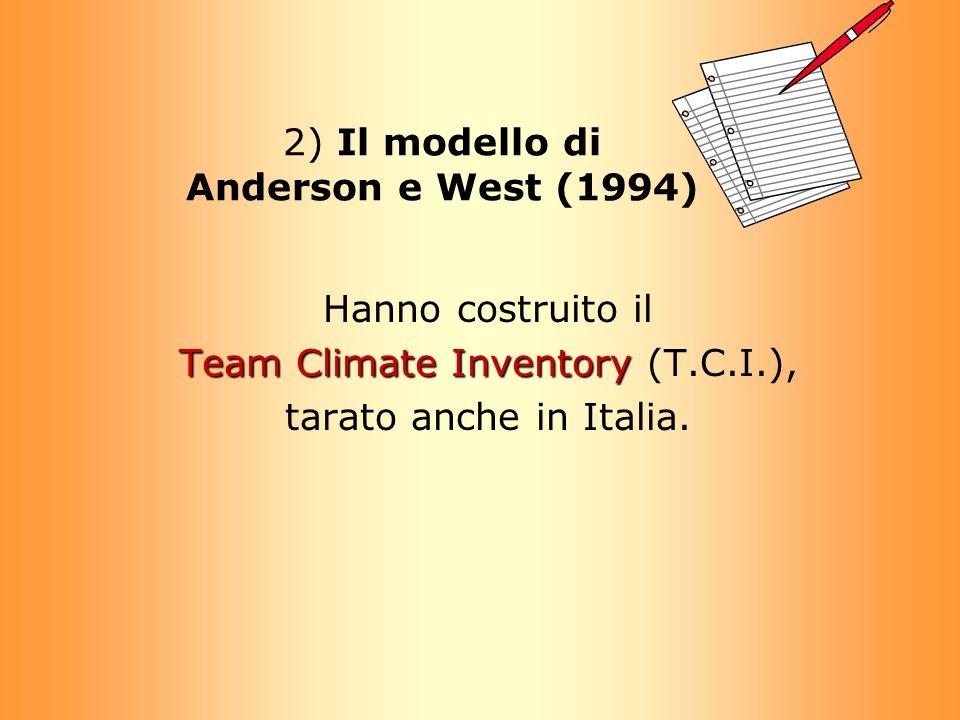 2) Il modello di Anderson e West (1994)