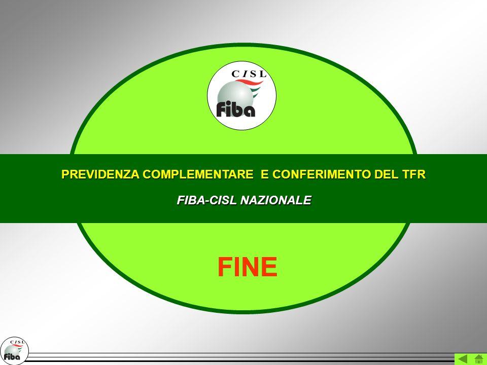 PREVIDENZA COMPLEMENTARE E CONFERIMENTO DEL TFR