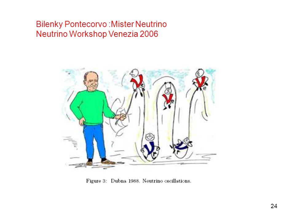 Bilenky Pontecorvo :Mister Neutrino