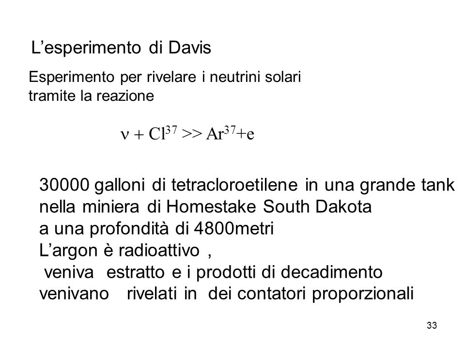 L'esperimento di Davis