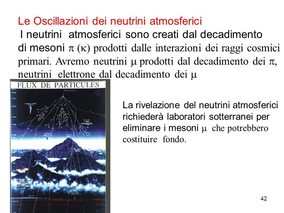 Le Oscillazioni dei neutrini atmosferici