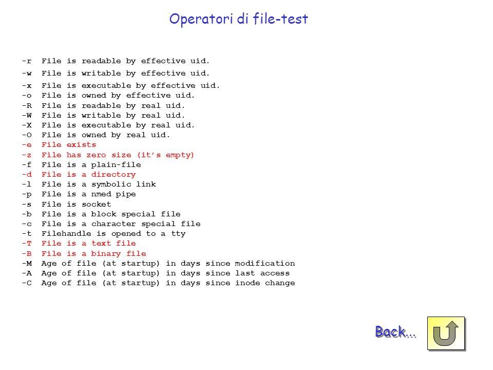 Operatori di file-test