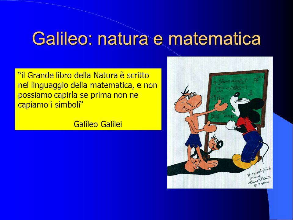 Galileo: natura e matematica