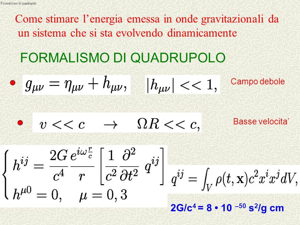 Formalismo di quadrupolo