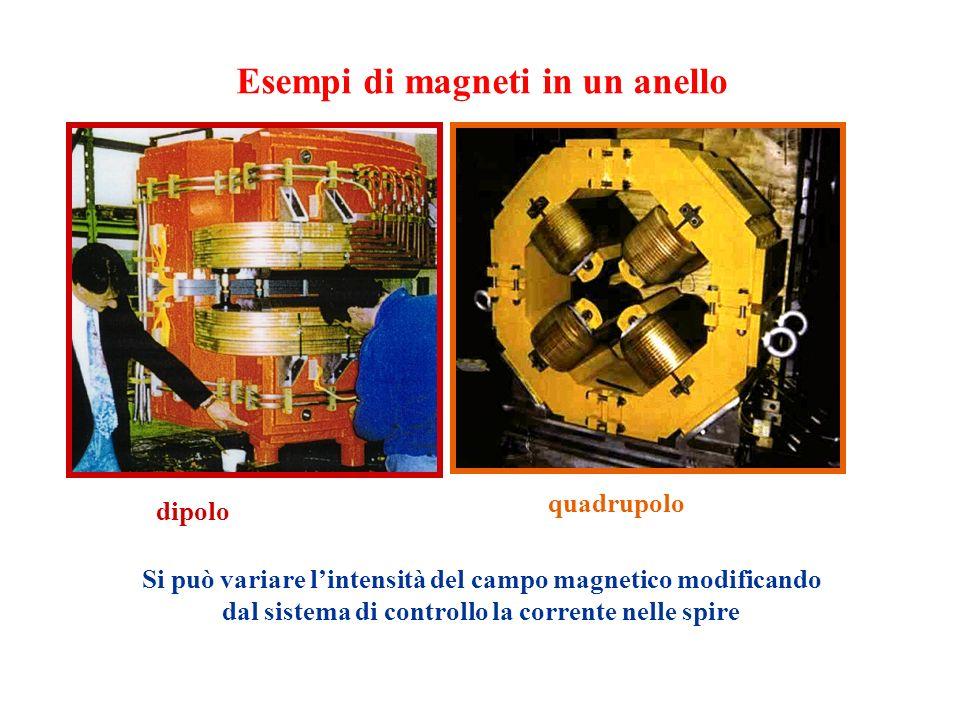 Esempi di magneti in un anello