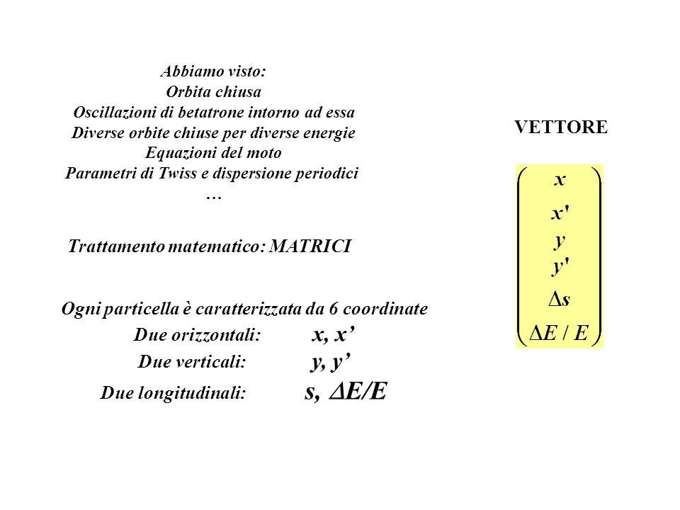 Trattamento matematico: MATRICI