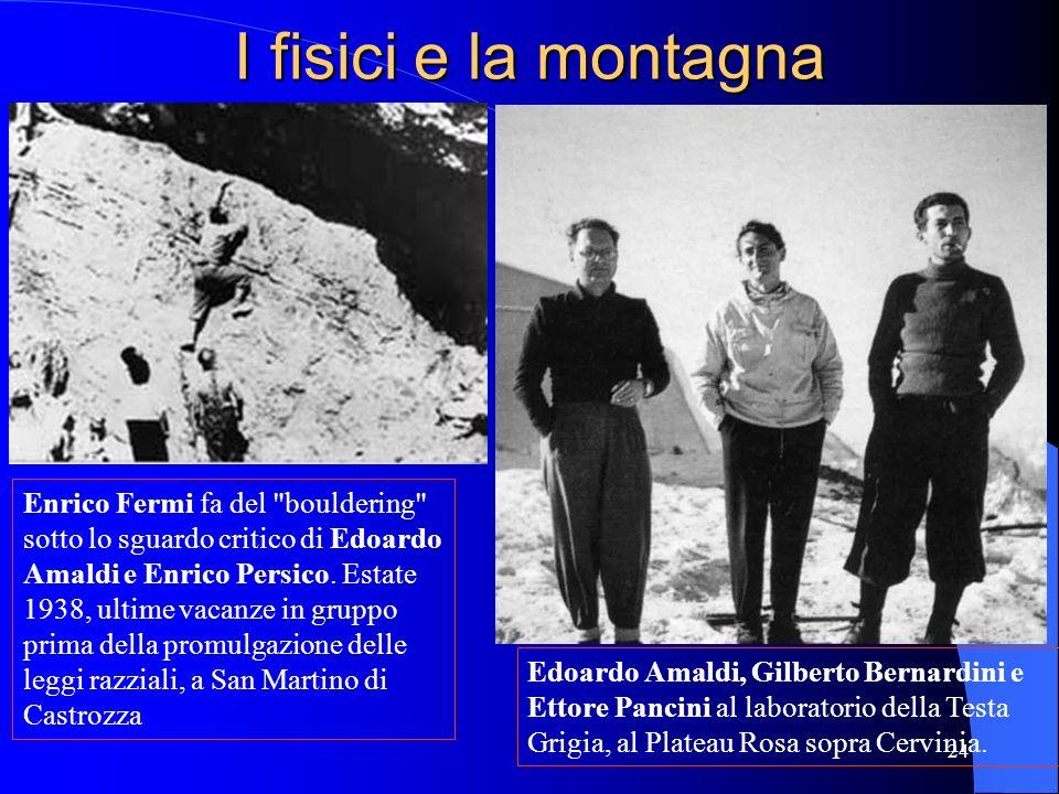 I fisici e la montagna