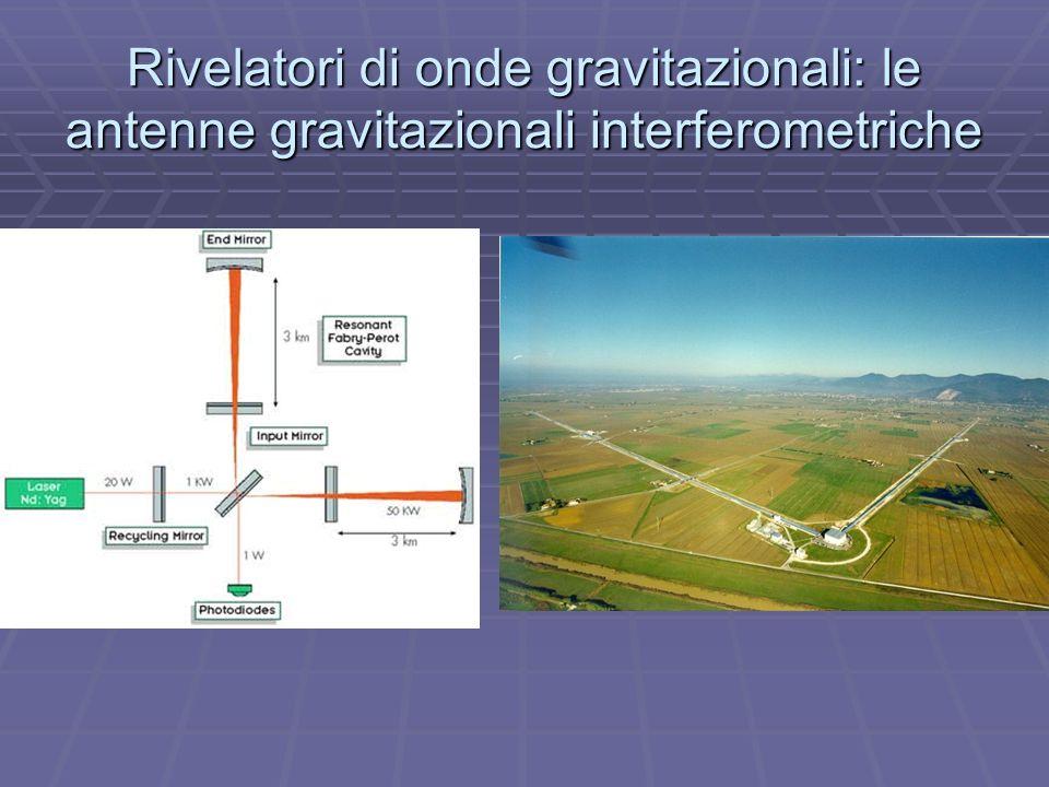 Rivelatori di onde gravitazionali: le antenne gravitazionali interferometriche