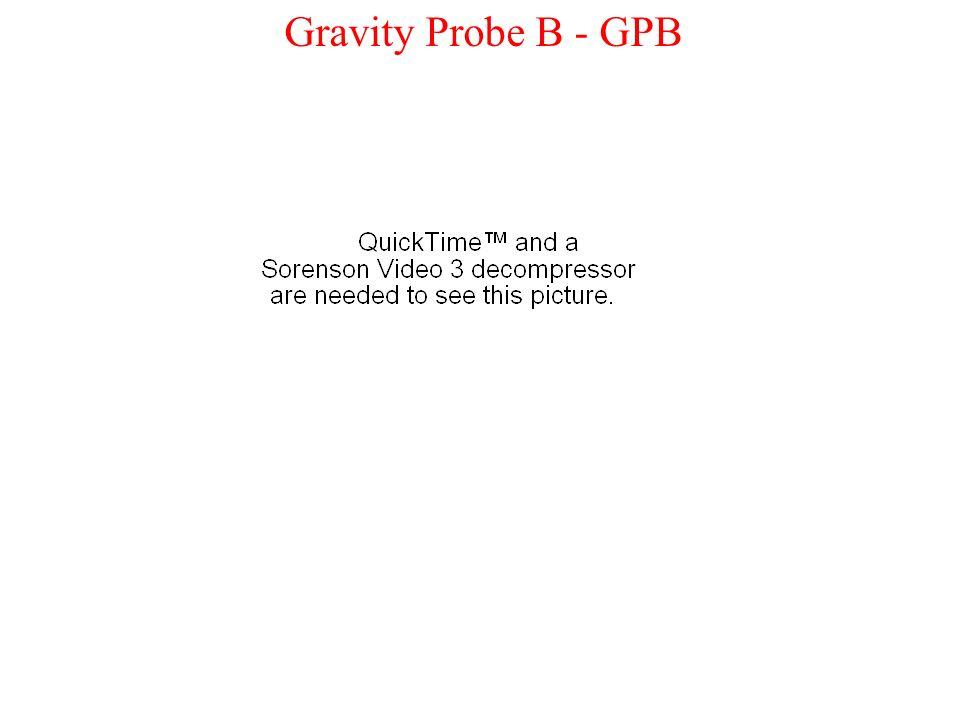 Gravity Probe B - GPB