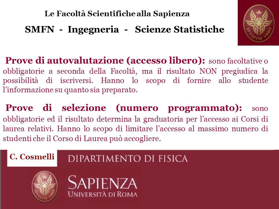 SMFN - Ingegneria - Scienze Statistiche