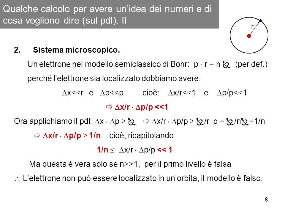 Qualche calcolo per avere un'idea dei numeri e di cosa vogliono dire (sul pdI). II