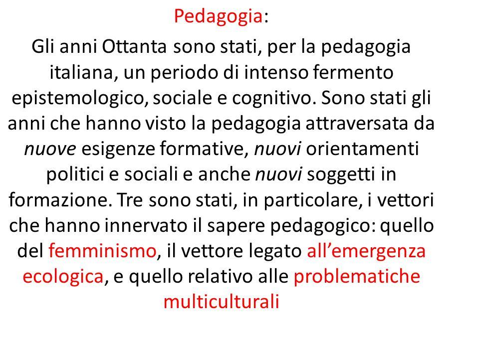 Pedagogia: