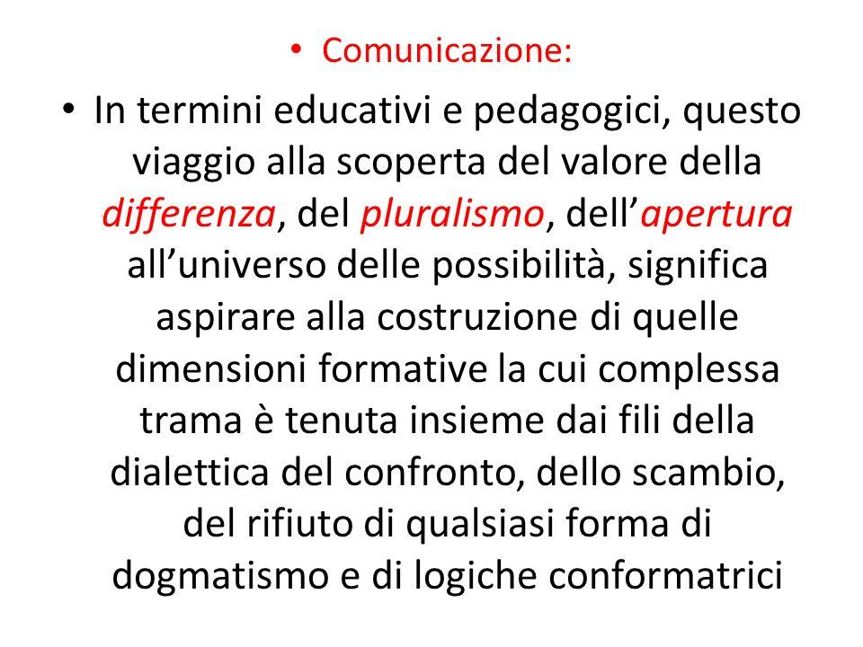 Comunicazione: