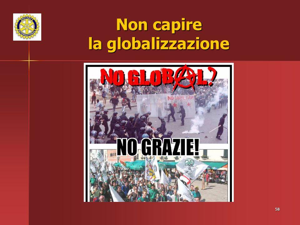 Non capire la globalizzazione