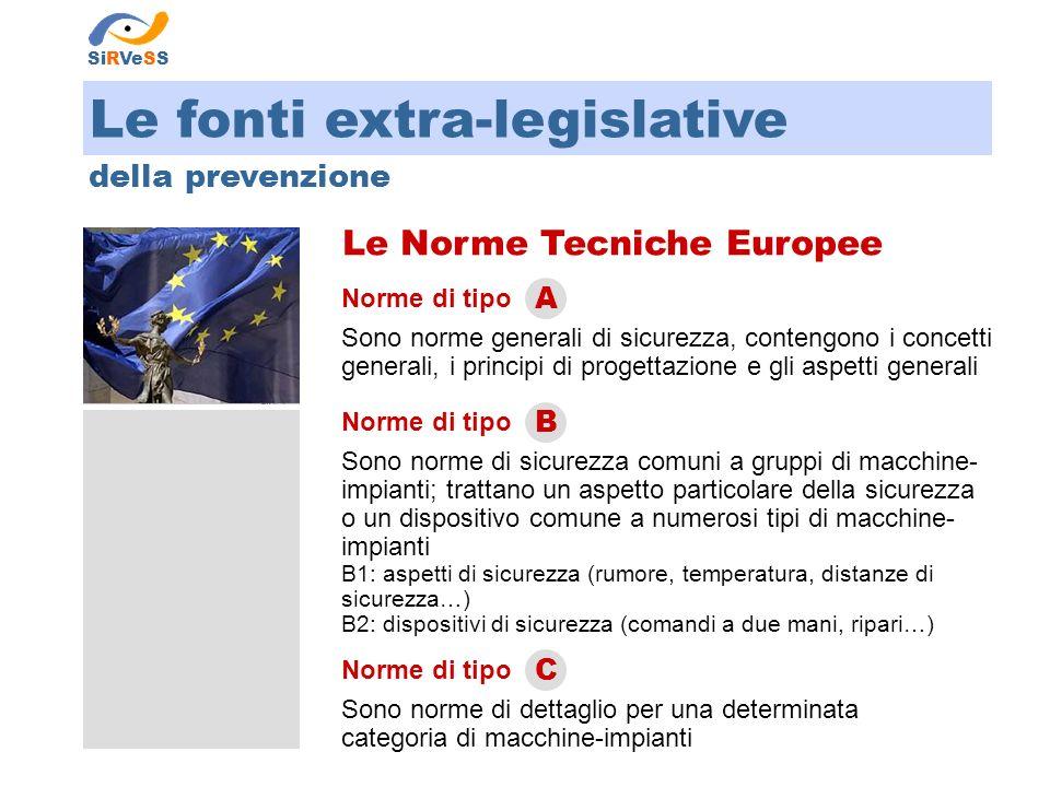 Le Norme Tecniche Europee
