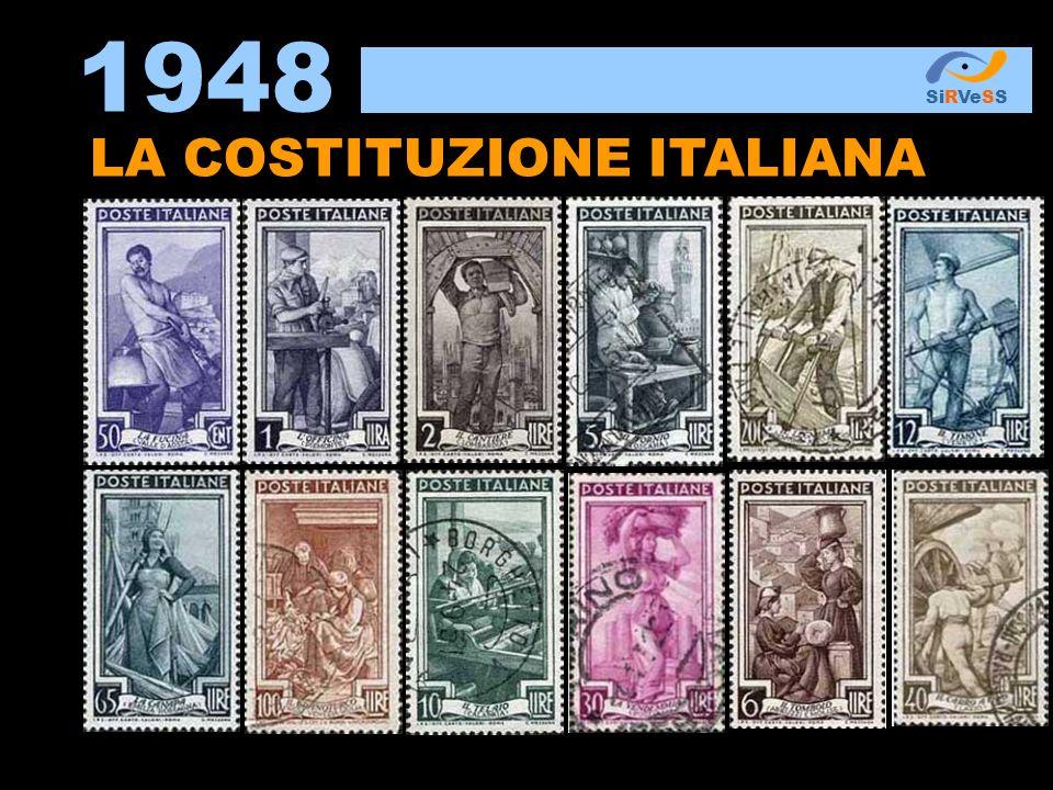 1948 SiRVeSS LA COSTITUZIONE ITALIANA