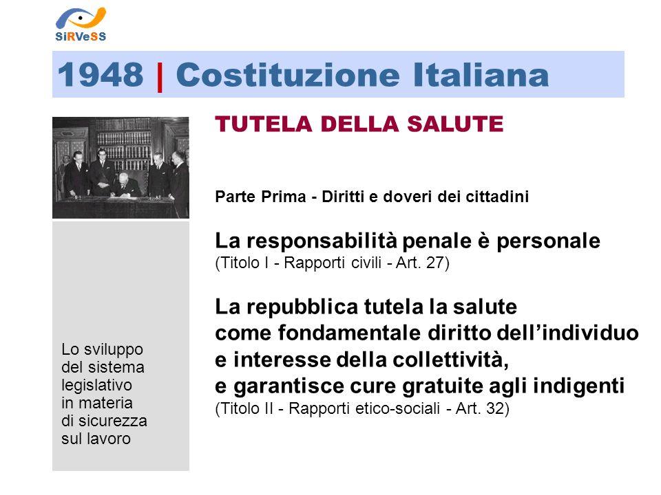 1948 | Costituzione Italiana