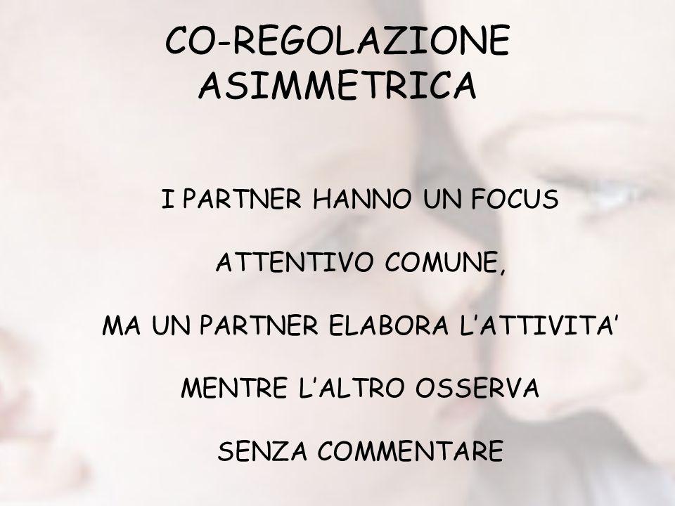 CO-REGOLAZIONE ASIMMETRICA