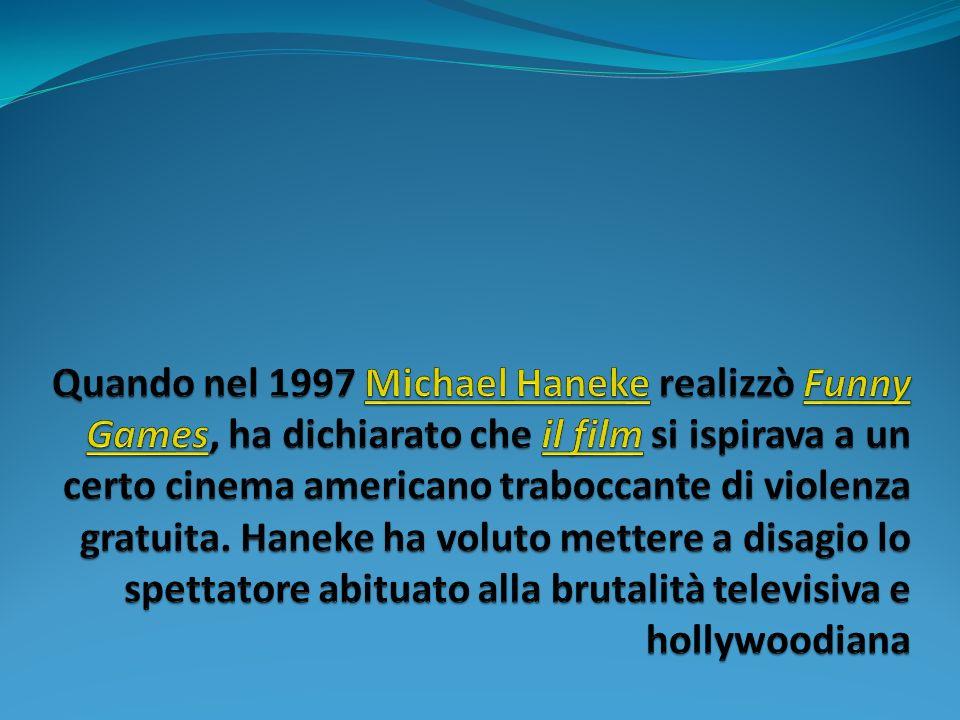 Quando nel 1997 Michael Haneke realizzò Funny Games, ha dichiarato che il film si ispirava a un certo cinema americano traboccante di violenza gratuita.