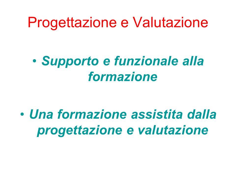 Progettazione e Valutazione