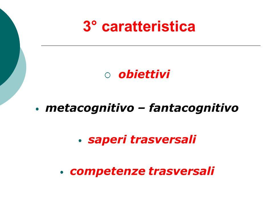 metacognitivo – fantacognitivo competenze trasversali