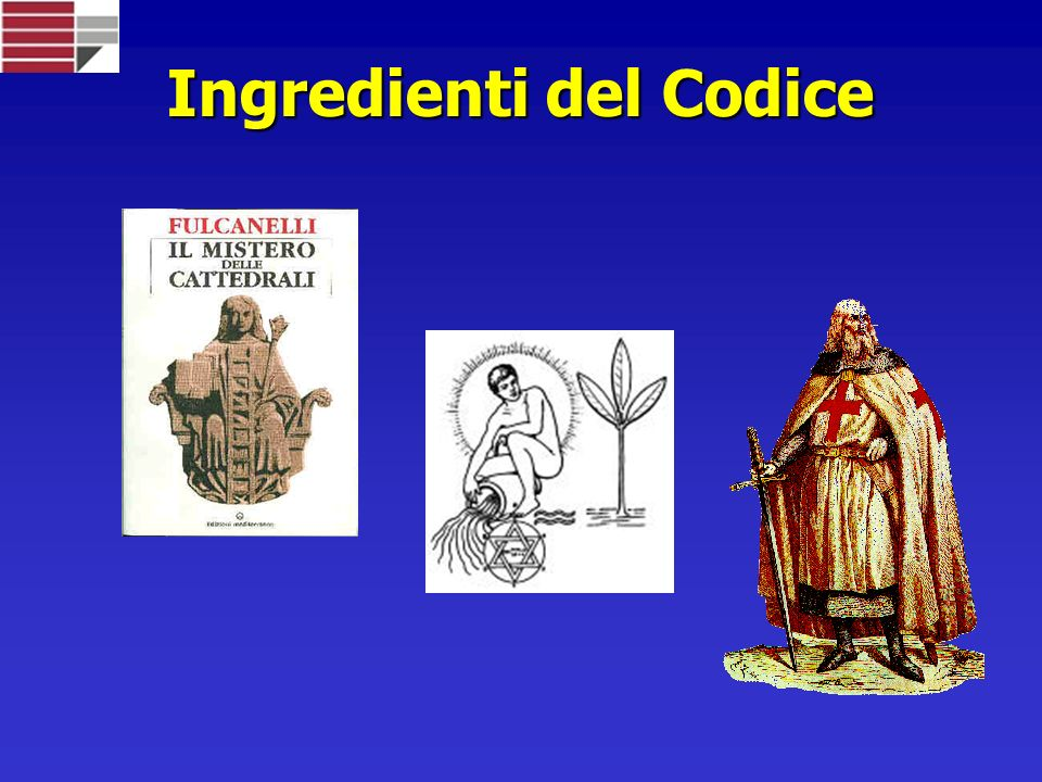 Ingredienti del Codice