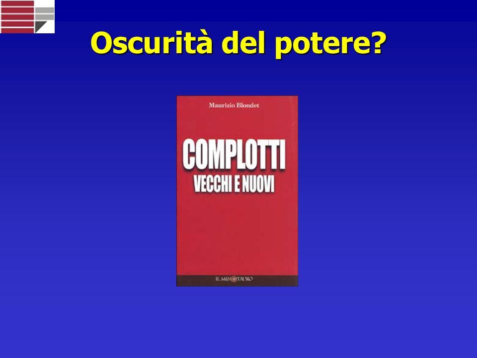 Oscurità del potere Copertina libro blondet, complotti vecchi e nuovi
